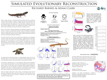 Thumbnail of poster entitled 'Simulated Evolutionary Reconstruction'
